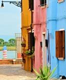 venice burano wyspa Italy Zdjęcie Stock