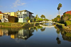 Venice, CA Canal Historic District Royalty Free Stock Photo