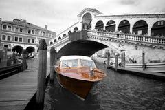 Venice Cab Stock Photo