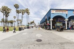 Venice California Boardwalk Royalty Free Stock Image