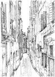 Venice - Calle Frutarol Royalty Free Stock Photography