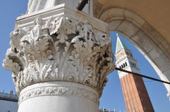 Venice, Campanile Royalty Free Stock Images