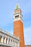 Venice, Campanile di San Marco Stock Image