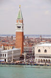 Venice, Campanile di San Marco Royalty Free Stock Photos
