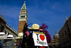 Venice, Campanile of San Marco Royalty Free Stock Photography