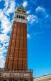 Venice Campanile tower Stock Photo