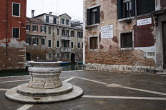 Venice - Campo S. Boldo Royalty Free Stock Photo