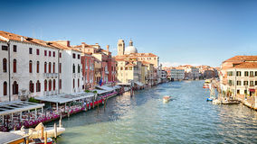 Venice Canal and Architecture royalty free stock photos