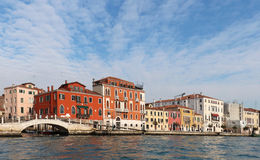 Venice canal architecture Stock Photo