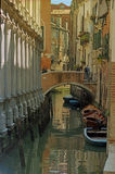 A Venice Canal Royalty Free Stock Photo
