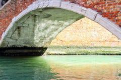 Venice Canal and Bridge Stock Image