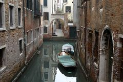 Venice canal Royalty Free Stock Images