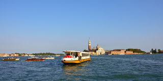 Venice, canal Giudecca Royalty Free Stock Photography