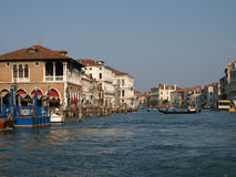 Venice - Canal Grande Royalty Free Stock Image