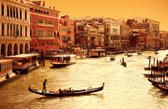 Venice, Canal Grande Stock Images