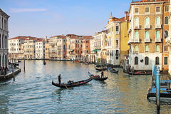 Venice canal Grande Stock Images