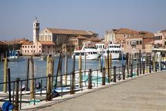 Venice - canal grande di Murano Stock Images