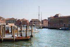 Venice - canal Grande di Murano Stock Image