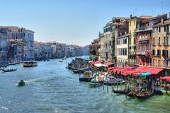 Venice Canal Grande Royalty Free Stock Image