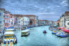 Venice. Canal Grande It is the main channel of the city Royalty Free Stock Photography