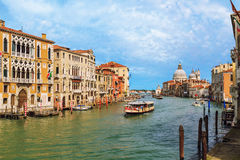 Venice Canal Grande Royalty Free Stock Photo