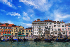 Venice Canal Grande Royalty Free Stock Images