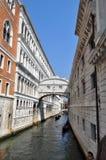 Venice Canal, Italy Royalty Free Stock Photos