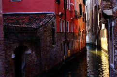 Venice. The canal of Venice, Italy Stock Images