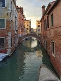 Venice. Canal italy Royalty Free Stock Photo
