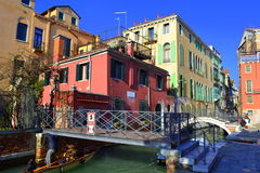 Venice canal,Italy Royalty Free Stock Image