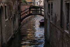 Venice Canal, Italy Royalty Free Stock Images