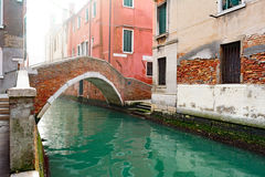 Venice canal. Canal in Venice - Italy - Europe royalty free stock images