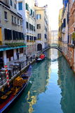 Venice canal,Italy Stock Images