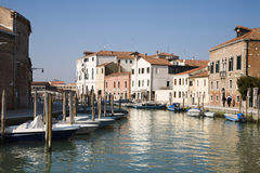 Venice - canal from Murano Stock Photos