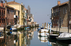 Venice - canal from Murano island Royalty Free Stock Photography