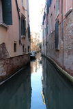 Venice Canal reflections Royalty Free Stock Image