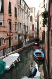 Venice Canal. Canal scene in Venice, Italy Stock Photography