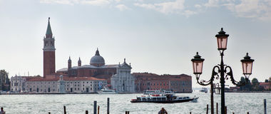 Venice canal scene in Italy Royalty Free Stock Images