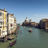 Venice canal sq Stock Images
