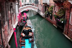 Venice canal,Venice,Italy Royalty Free Stock Photo