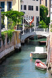 Venice Canal View Stock Image