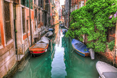 Venice canal Stock Photography