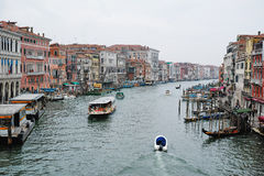 Venice Canal View Stock Photos