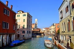 Venice canal view Royalty Free Stock Image