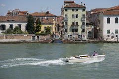 Venice canal. View of one of the many canals in Venice Stock Images