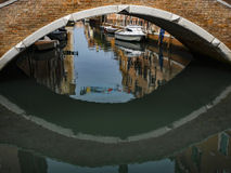 Venice Canal View Royalty Free Stock Photo