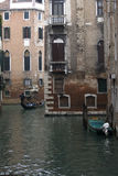 Venice - Canal on winter morning Royalty Free Stock Photography