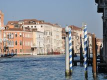 Venice, Canale Grande Royalty Free Stock Photos