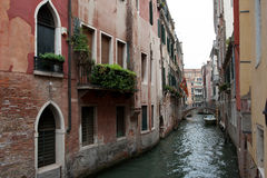 Venice Canals. Italy. Venice Canals summer trip Royalty Free Stock Images