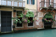 Venice Canals. Italy. Venice Canals summer trip Stock Image